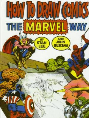 पुस्तक कवर How To Draw Comics The Marvel Way