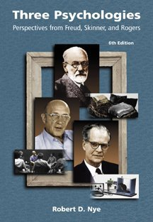 Portada del libro Three Psychologies: Perspectives from Freud, Skinner, and Rogers
