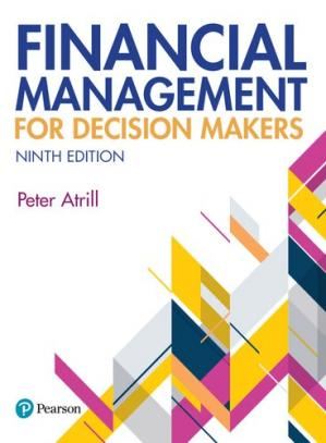 Book cover Financial management for decision makers
