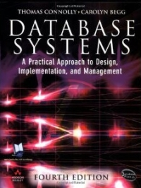 Copertina Database Systems, 4th Edition: A Practical Approach to Design, Implementation and Management