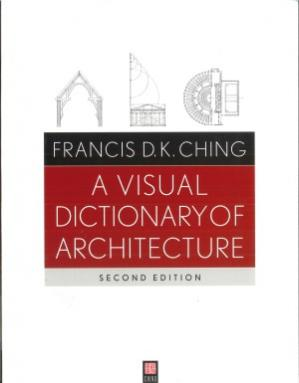 Book cover A Visual Dictionary of Architecture