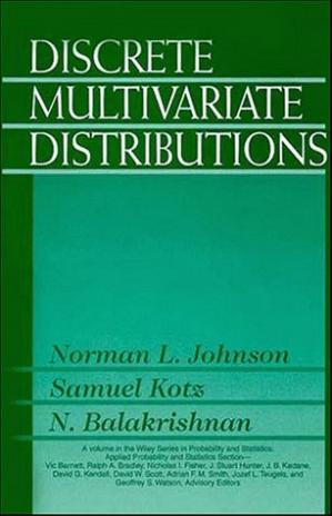 Copertina Discrete Multivariate Distributions