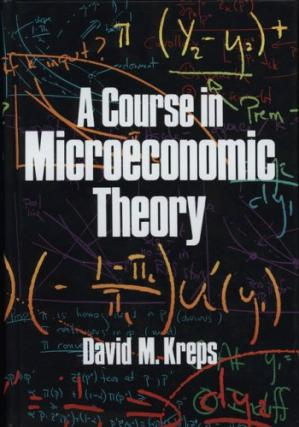 A capa do livro A Course in Microeconomic Theory