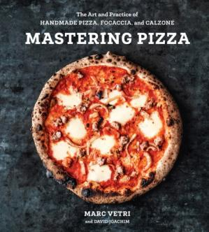 Sampul buku Mastering Pizza