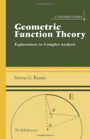 Book cover Geometric Function Theory, Explorations in Complex Analysis