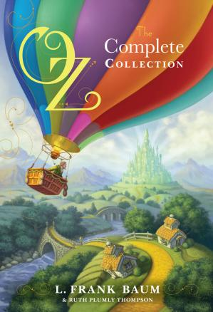 पुस्तक कवर Oz, The Complete Collection, Volume 1-5 (Simon and Schuster)