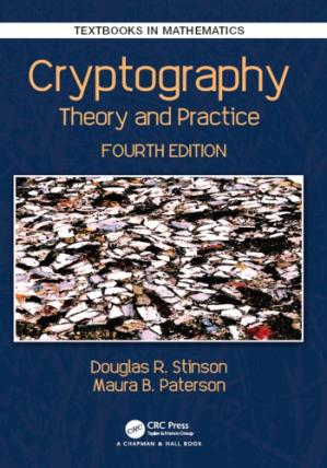 Book cover Cryptography: Theory and Practice