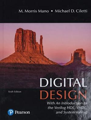 Book cover Digital Design With an Introduction to the Verilog HDL, VHDL, and SystemVerilog