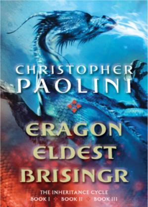 Book cover Inheritance Cycle (Eragon; Eldest; Brisingr)