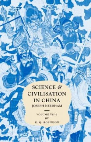 Book cover Science and Civilisation in China. General Conclusions and Reflections. Vol. VII:2