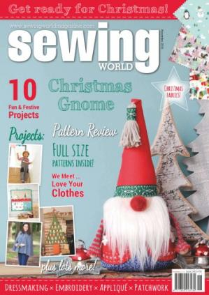 Kitabın üzlüyü Sewing World - November 2016
