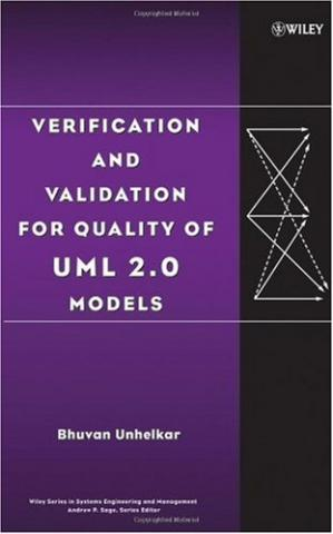 Εξώφυλλο βιβλίου Verification and validation for quality of UML 2.0 models