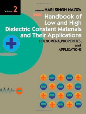 Sampul buku Handbook of Low and High Dielectric Constant Materials and Their Applications, Vol. 2