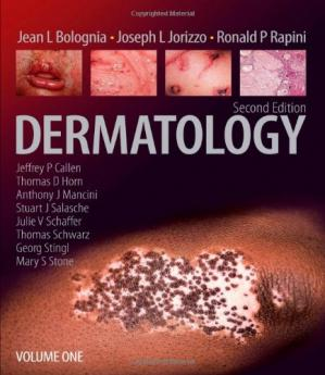 Book cover Dermatology: 2-Volume Set (Bolognia, Dermatology), Second Edition