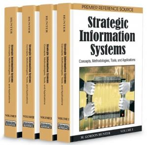 Εξώφυλλο βιβλίου Strategic Information Systems: Concepts, Methodologies, Tools, and Applications (4 - Volumes)
