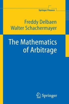 표지 The Mathematics of Arbitrage