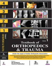La couverture du livre Textbook of Orthopedics and Trauma (4 Volumes)
