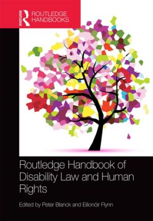 Couverture du livre Routledge Handbook of Disability Law and Human Rights