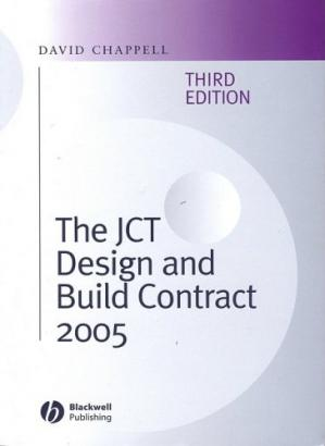 Copertina The JCT Design and Build Contract 2005