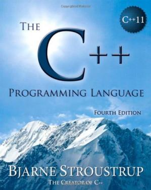 Book cover The C++ Programming Language, 4th Edition