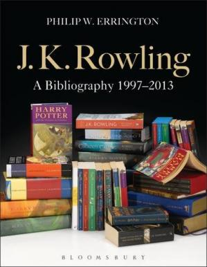 Book cover J.K. Rowling : a bibliography 1997-2013