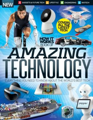 Book cover How It Works Book of Amazing Technology