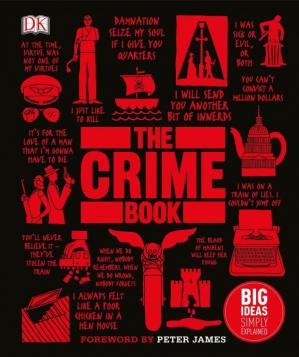 La couverture du livre The Crime Book