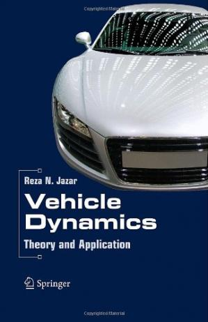 Book cover Vehicle Dynamics. Theory and Application