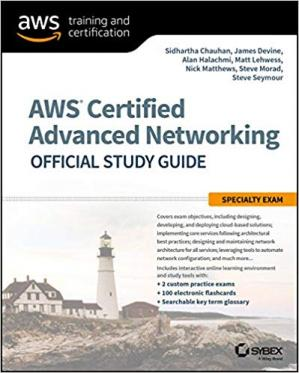 Copertina Aws Certified Advanced Networking Official Study Guide: Specialty Exam