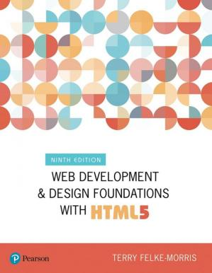 Book cover Web development and design foundations with HTML5