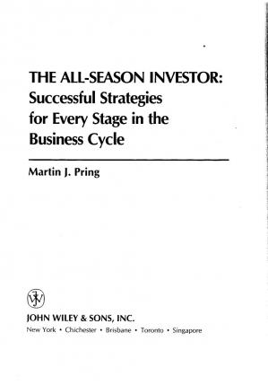 Book cover The All-Season Investor 1992