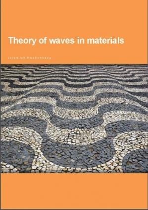 غلاف الكتاب Theory of Waves in Materials