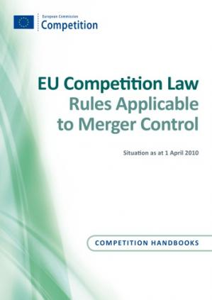 Book cover EU Competition Law: Rules Applicable to Merger Control