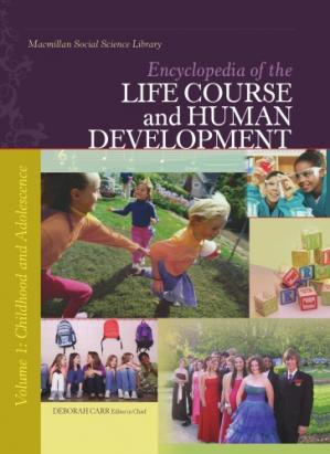 Buchdeckel Encyclopedia of the Life Course and Human Development, Volume 1: Childhood and Adolescence