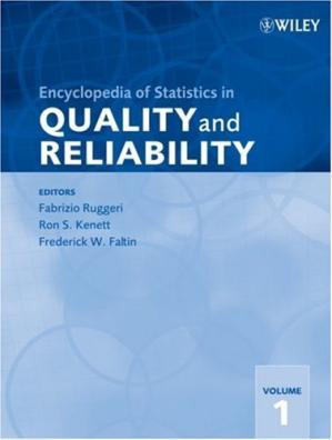 Book cover Encyclopedia of Statistics in Quality and Reliability