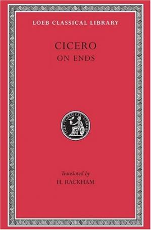 Book cover Cicero: On Ends