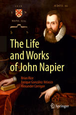 Book cover The Life and Works of John Napier