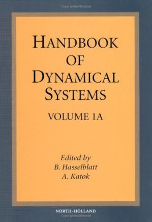 A capa do livro Handbook of Dynamical Systems 1, Part A