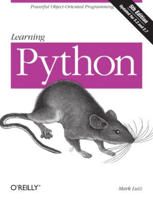 Book cover Learning Python