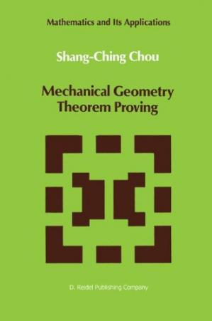 Portada del libro Mechanical Geometry Theorem Proving