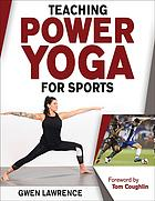 Book cover Teaching power yoga for sports