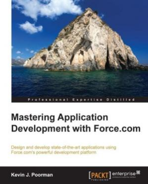 Book cover Mastering Application Development with Force.com