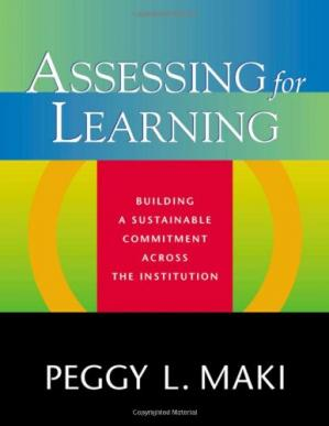 Copertina Assessing for Learning: Building a Sustainable Commitment Across the Institution