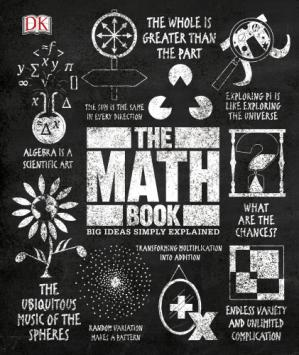Kitabın üzlüyü The Math Book (Big Ideas Simply Explained)