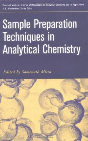 Copertina Sample Preparation Techniques in Analytical Chemistry