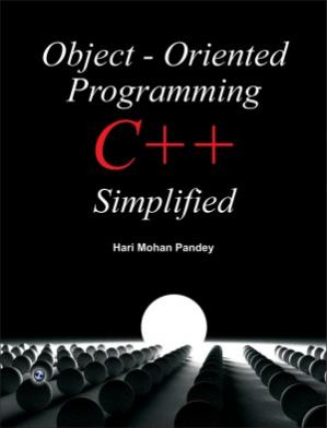 Book cover Object - Oriented Programming C++ Simplified
