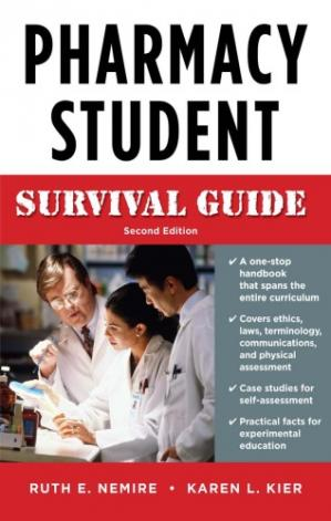 Book cover Pharmacy Student Survival Guide