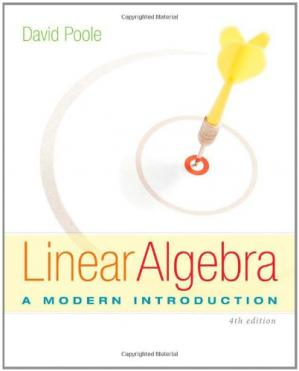 Book cover Linear Algebra: A Modern Introduction