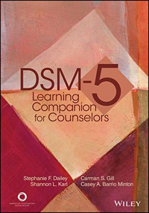Book cover DSM-5 Learning Companion for Counselors