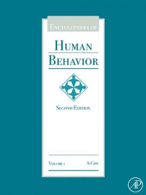 Book cover Encyclopedia of Human Behavior, Second Edition